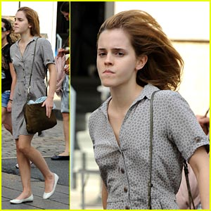 Emma Watson: Mercer Kitchen Cute