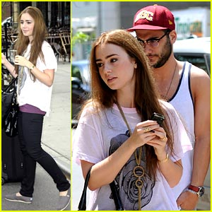 Lily Collins: Priest Date Moved Again