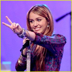 It's Miley Cyrus, Live Fr
