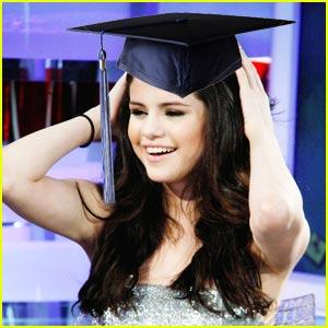 Selena Gomez Graduates!