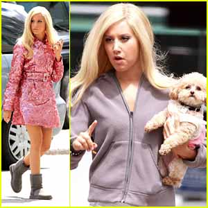 Ashley Tisdale in Sharpay's Fabulous Adventures -- FIRST LOOK!