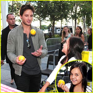 Bailee Madison & Peter Facinelli: Lemonade For Twilight Fans!