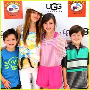 Bella Thorne & Ryan Newman are Kidstock Cute