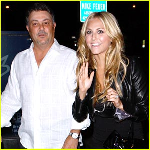Cassie Scerbo & Dad: BOA Buddies