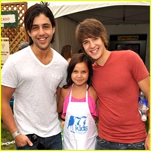 Devon Werkheiser &#038; Josh Peck: A Time For Heroes Picnic!