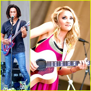 Emily Osment has an Allstar Weekend in Chicago!