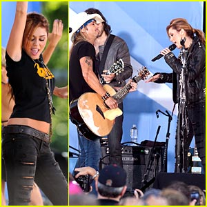 Miley Cyrus is Bowie Beautiful on GMA!