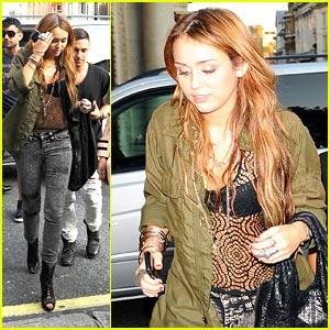 Miley Cyrus is Sake Sweet