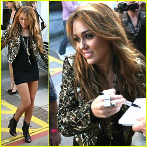 Miley Cyrus Can't Be Tamed on Britain's Got Talent!