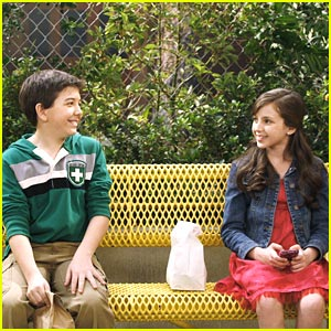 Bradley Steven Perry & Ryan Newman: Flirting Friends
