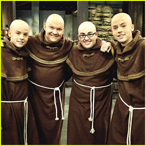 Dylan & Cole Sprouse are Monks!