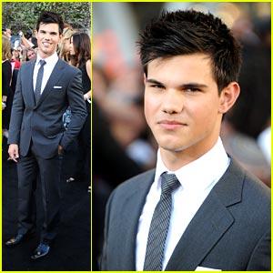Taylor Lautner Premieres Eclipse