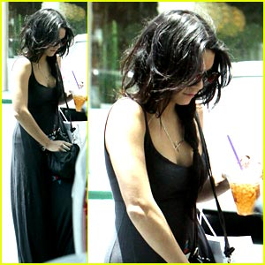 Vanessa Hudgens: Ice Coffee Cutie