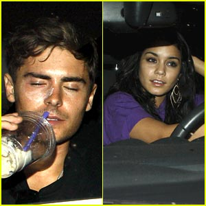 Zac Efron &#038; Vanessa Hudgens: Boa Buddies
