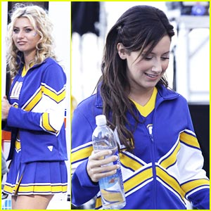 Ashley Tisdale & Aly Michalka: Blue, Gold, White!