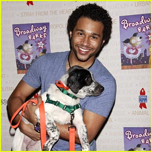 Corbin Bleu Barks on Broadway