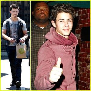 Joe & Nick Jonas: Tour Plans Revealed!