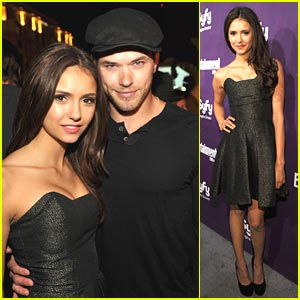 Nina Dobrev: Comic-Con with Kellan Lutz!