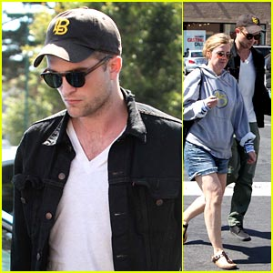 Robert Pattinson: Movie in Malibu!