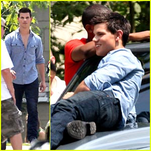 Taylor Lautner: The Perfect Teen Wolverine?