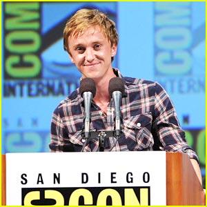 Tom Felton: Harry Potter at Comic-Con!