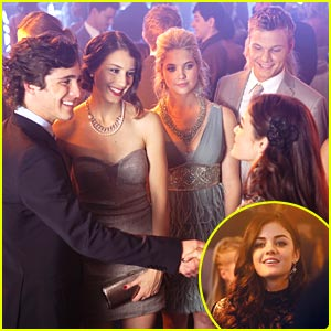 Troian Bellisario & Lucy Hale: Homecoming Hotties