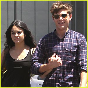 Zac Efron & Vanessa Hudgens: Lunch Lovers