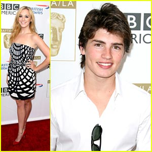 Andrea Bowen & Gregg Sulkin: BAFTA/LA Tea Party!