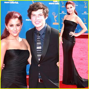 Ariana Grande & Graham Phillips: Emmy Date Night!