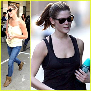 Ashley Greene Butters It Up