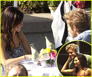 Ashley Tisdale & Matt Barr: Lunch Date!