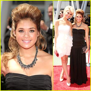 Nicole Anderson & Chelsea Staub: Sky High Hair at the Emmys!