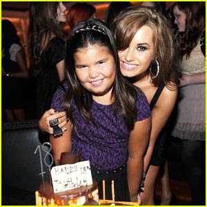 Demi Lovato Birthday Present to Her Family: A House!