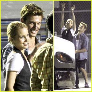 Alex Pettyfer: Dianna Agron's Basketball Boyfriend