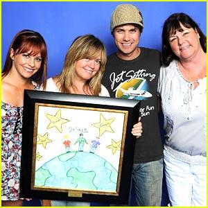 Drew Seeley & Amy Paffrath: Ray Cham Hollywood Day 2010