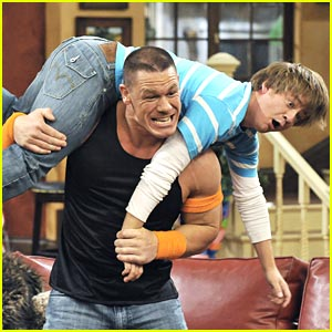 John Cena Bench Presses Jason Earles