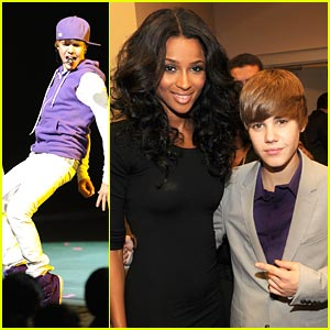 Justin Bieber: World Leadership Awards with Ciara!