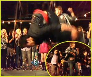 Logan Henderson Flips Over The City!