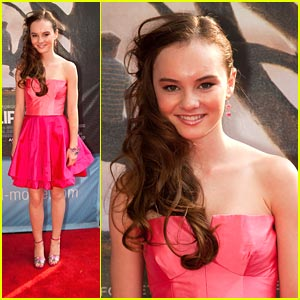 Madeline Carroll's Advice to Young Actors: Make Sure You Really Like It