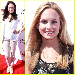 Chloe Bridges & Meaghan Martin: Cars Cuties