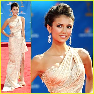 Nina Dobrev Performs at the Emmys!