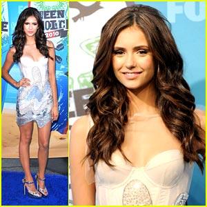 Nina Dobrev: Teen Choice Awards 2010!