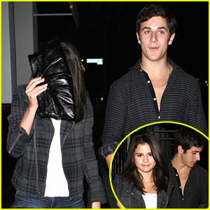 Selena Gomez & David Henrie: Philippe Chow Date Night!