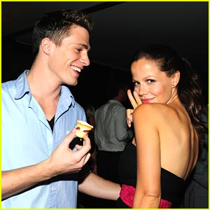 Tammin Sursok &#038; Colton Haynes: French Connection Friends