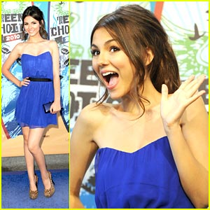 Victoria Justice: Teen Choice Awards 2010!