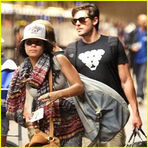 Zac Efron & Vanessa Hudgens: Hawaii Vacation Over!