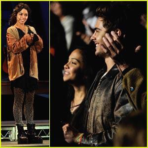 Zac Efron Watches Vanessa Hudgens in RENT -- PICTURES!