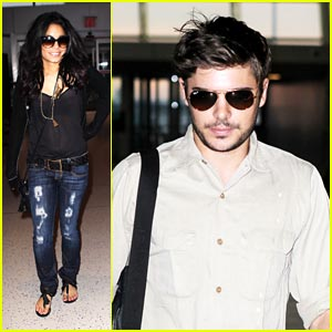 Zac Efron & Vanessa Hudgens: NYC to Memphis to LA
