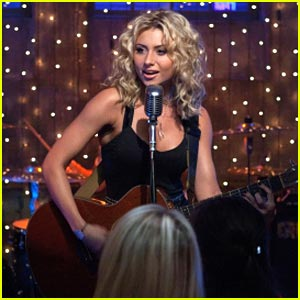 Aly Michalka: Hellcats Singer!