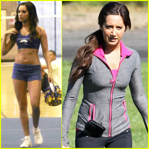 Ashley Tisdale: Cheerleading World Record!